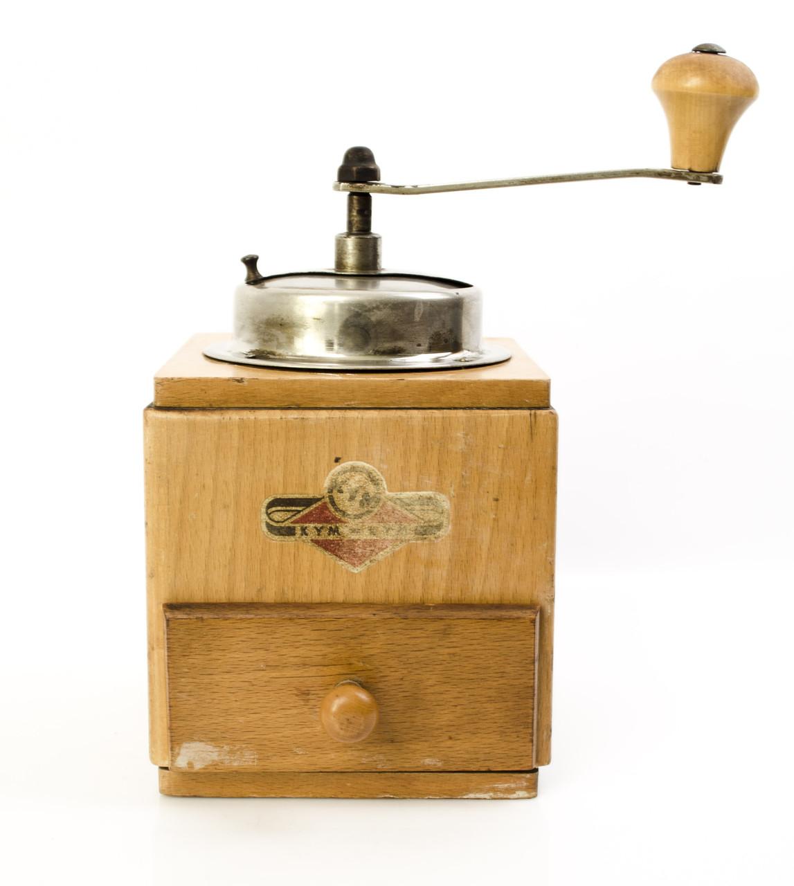 Cтарая кофемолка, Германия, Stahlmalwerk mit Feinsteller