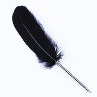 Шариковая ручка в форме пера! Ручка-перо!, фото 1