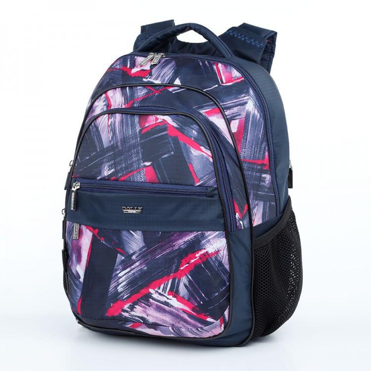 294322b671e8 Школьный рюкзак ортопедический два отделения задний карман Dolly 523  размеры 30 х 39 х 21см -