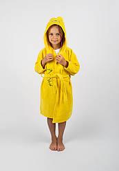 Халат детский Lotus - Teddy Bear 3-4 года желтый
