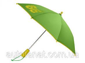 Оригинальный детский зонт Mercedes-Benz Children's Umbrella, Green / Yellow (B66953298)