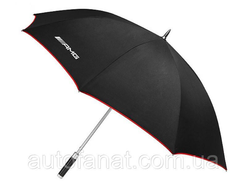 Зонт-трость Mercedes-Benz AMG Guest Umbrella, Black, артикул B66953677