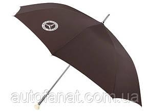 Зонт трость Mercedes-Benz Guest umbrella, оригинальный коричневый (B66043226)