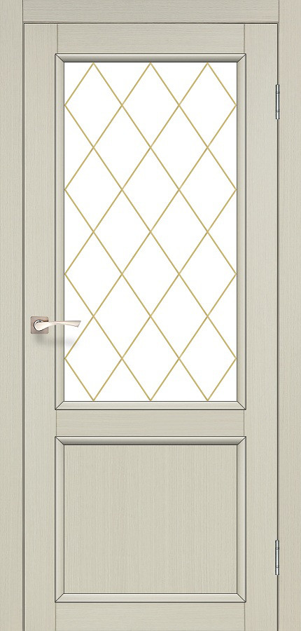 Двери Korfad CL-02 Дуб беленый