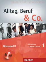 Учебник Alltag, Beruf und Co. 1 Kursbuch + Arbeitsbuch mit Audio-CD zum Arbeitsbuch