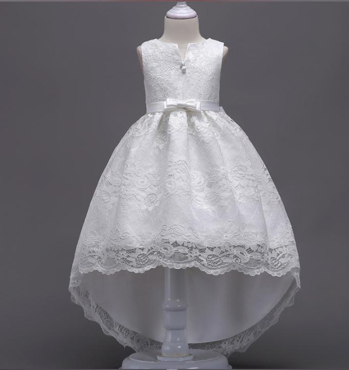 Платье белое бальное выпускное нарядное для девочки в садик или школу