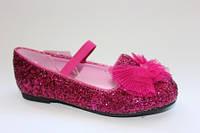 Блестящие туфельки для девочек привезены с Америки 23р.
