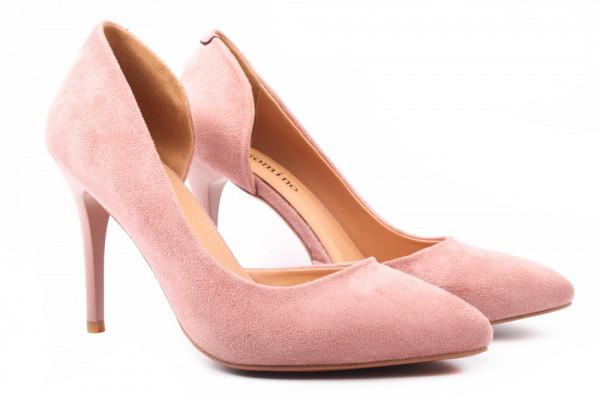Лодочки Gelsomino эко замш, цвет розовый