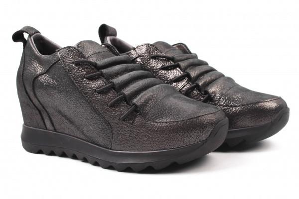 Туфли спорт Grossi натуральный сатин, цвет перламутр
