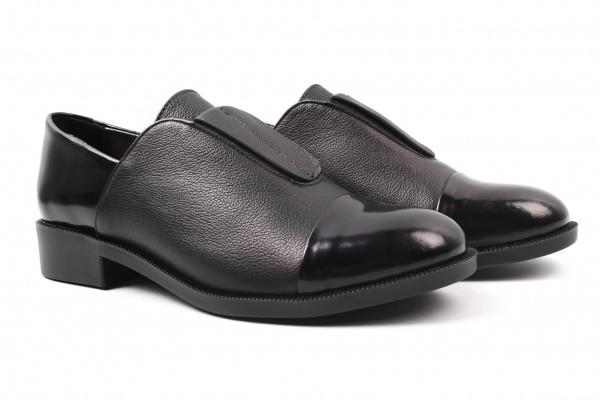 Туфли комфорт Grossi натуральная кожа, цвет черный