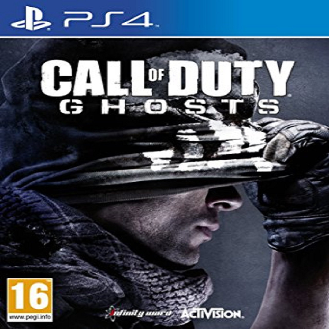 Call of Duty: Ghosts ENG PS4 (Б/В)