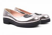 Туфли комфорт Guero натуральная кожа, цвет серебро
