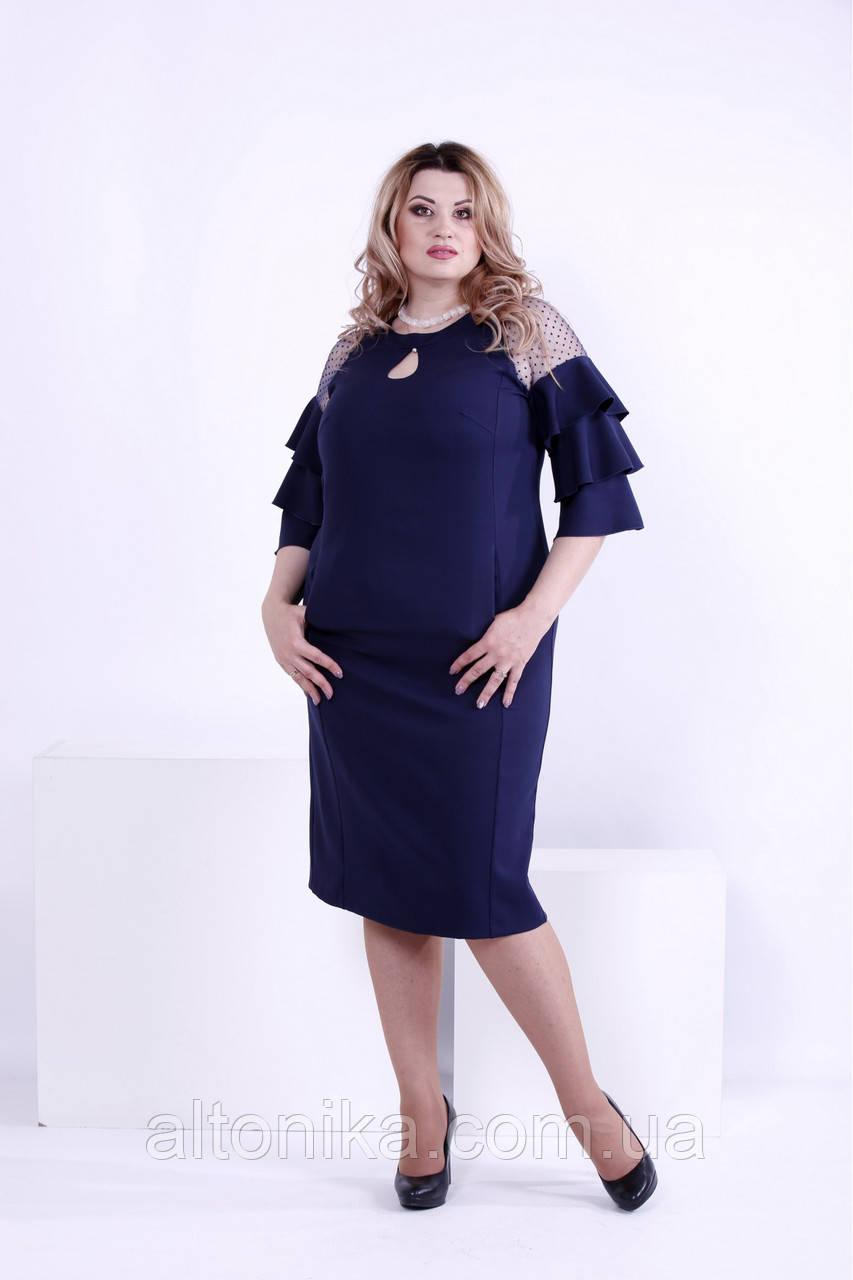 Женское нарядное платье из костюмки   42-74