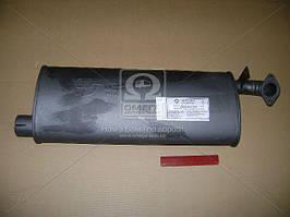 Глушитель ГАЗ 2401 закатной (Ижора). 24-1201008