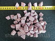 Наполнитель для галтовки розовый 15х15х15