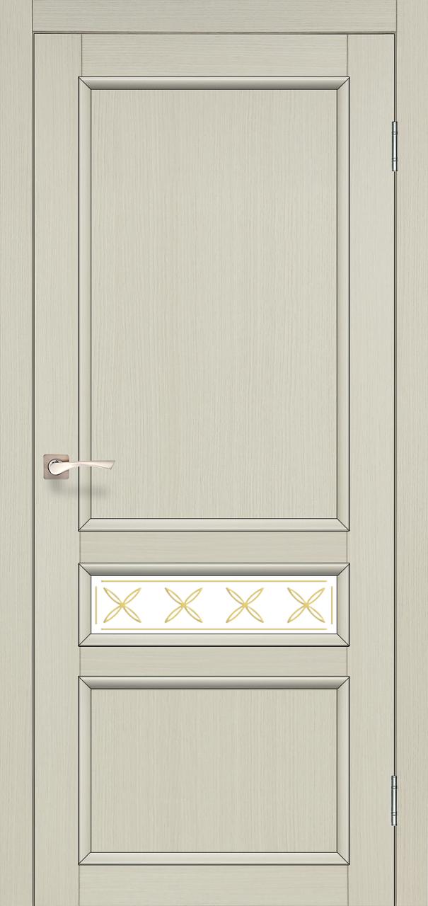 Двери Korfad CL-07 Дуб беленый