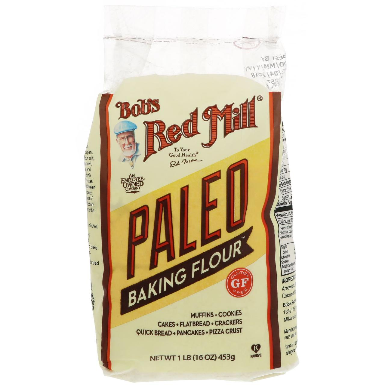 Bobs Red Mill, Палео-мука для выпечки, 453 г (16 унций)