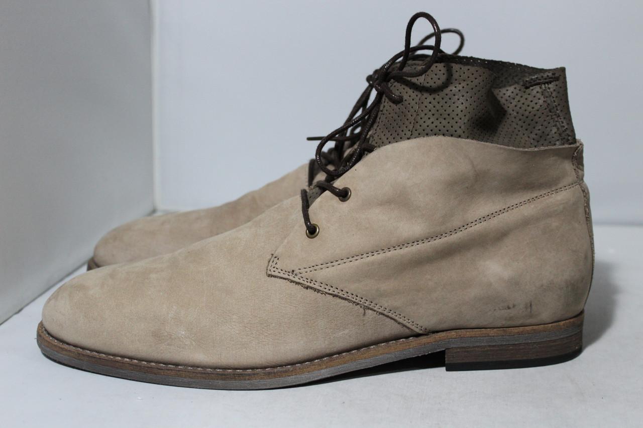 Мужские кожаные ботинки Minelli, 44р.
