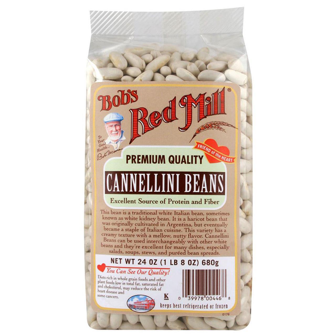Bobs Red Mill, Белая фасоль, 24 унции (680 г)