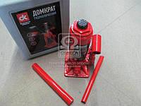 Домкрат бутылочный, 5т пластик, красный H=195/380 (Дорожная Карта). JNS-05PVC
