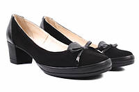 Туфли комфорт Mida комбинированные, цвет черный