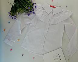 Школьная форма для девочек Рубашка №6 белый Sofia Shelest  122 см