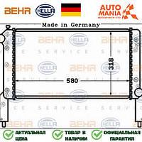 Радиатор на Фиат добло, радиатор двигателя для Fiat Doblo  Behr Hella   8MK376767671