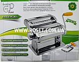 Лапшерезка тестораскатка - Green Point Pasta Machine GP-381, фото 3