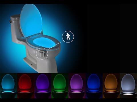 Подсветка сидения унитаза lighrbowl 8 цветов с датчиком движения