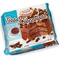 Десерт итальянский торт шоколадный Torta Сioccolato Dolciando, 500 г.