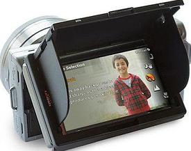 Универсальные защиты LCD экрана с козырьком и шторками