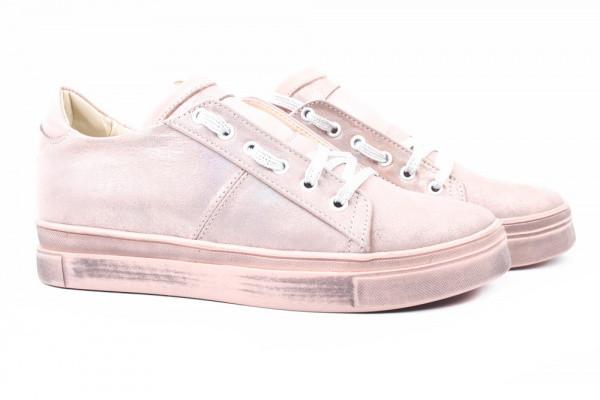 Туфли комфорт Olli натуральный сатин, цвет розовый
