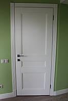 Міжкімнатні дерев'яні двері М-22/3 колір RAL-7047, фото 1