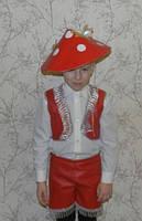 Карнавальный  костюм Мухомор ,  для девочки, мальчика продажа, прокат, фото 1