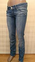 Женские джинсы AMN прямые.