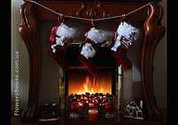 Рождественские, новогодние сапожки - новогодние подарки.