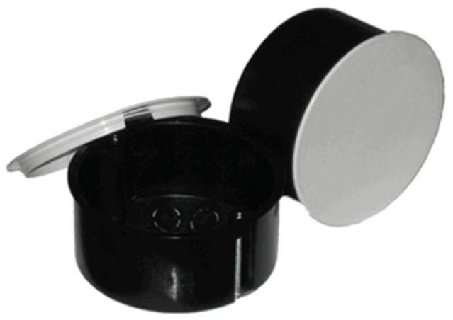 РО 070-02 Коробка разветвительная  с крышкой (гипсокартон)  d70х45