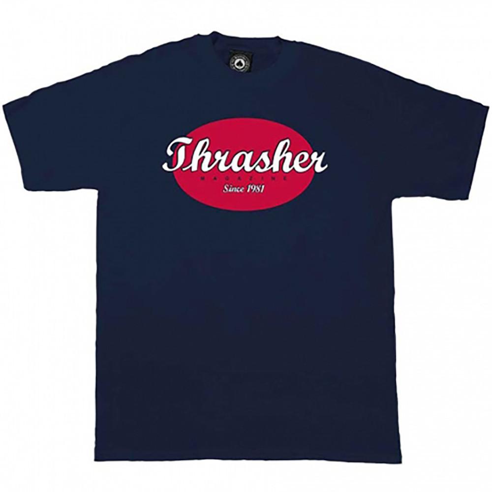 Футболка принтом Thrasher Retro |