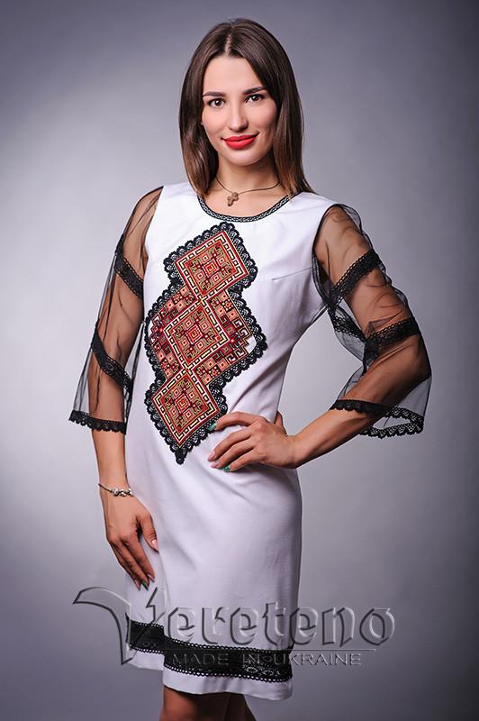 f08210f5f121ea Вишите жіноче плаття з рукавами, натуральна тканина: продажа, цена в ...