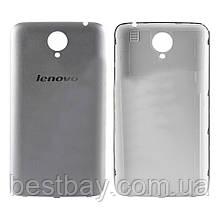 Задняя крышка Lenovo S650 silver ОРИГИНАЛ