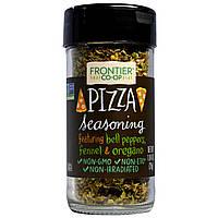 Frontier Natural Products, Приправа для пиццы, 1,04 унции (29 г)