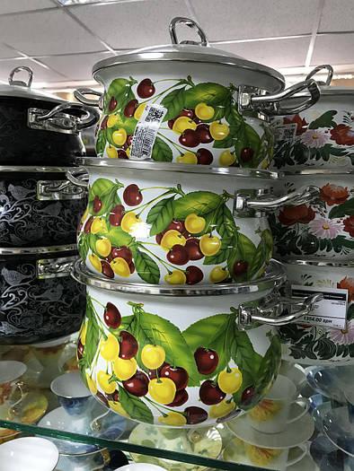 Набір посуду емальований EPOS, Новомосковск, №1000 Біла вкусняшка