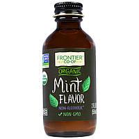 Frontier Natural Products, Органический безалкогольный продукт с мятным ароматом, 2 жидких унции (59 мл)
