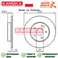Тормозные диски на Мерседес Ц, блины для Mercedes C-Class  Kamoka   1031080