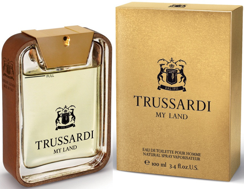 Trussardi My Land (Труссарди Май Ленд), мужская туалетная вода, 100 ml копия