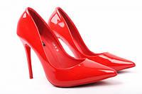 Туфли комфорт Vices эко лак, цвет красный