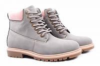 Ботинки Vices нубук, цвет серый