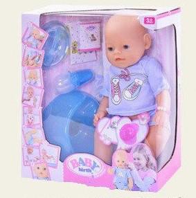 Пупс Baby Born с аксессуарами 8006-4