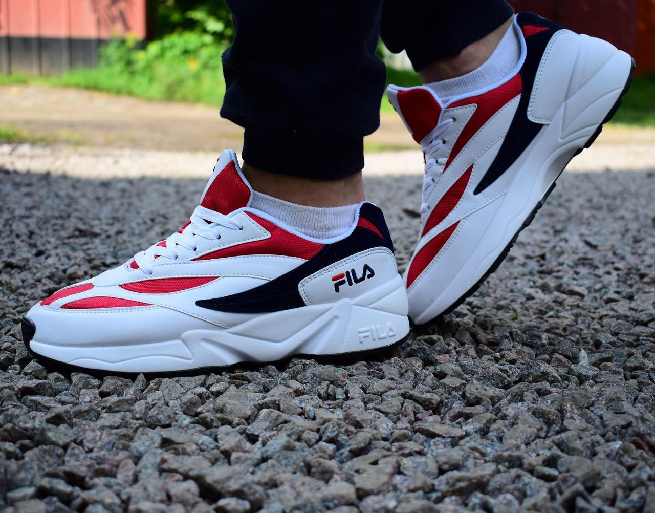 a8341b9985fa ... Кроссовки мужские FILA 2018 VENOM 94 41-45 размеры cost charm 44d4d  5437a  FILA VENOM 94 Shoes Athletic Running FS1HTA3031XWRD SZ 4-13 ...