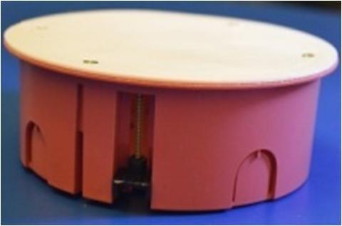 РО 120-02 Коробка разветвительная  с крышкой (гипсокартон)  d120х50